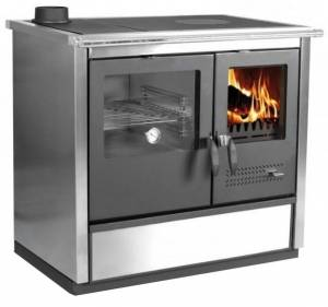 piec kuchenny na drewno do CO NORTH hydro inox L